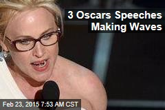 3 Oscars Acceptance Speeches Making Waves