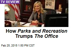How Parks and Recreation Trumps The Office