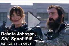 Dakota Johnson, SNL Spoof ISIS