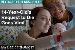 14-Year-Old's Request to Die Goes Viral