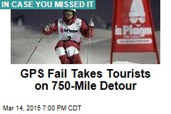 GPS Fail Takes Tourists on 750-Mile Detour