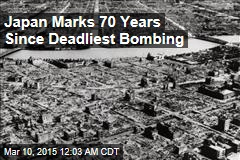 Japan Marks 70 Years Since Deadliest Bombing