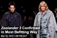 Zoolander 2 Is on—in Style