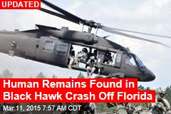 11 Missing After Army Blackhawk Crashes