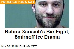 Before Screech's Bar Fight, Smirnoff Ice Drama