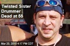 Twisted Sister Drummer Dead at 55