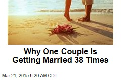 Couple Getting Married 38 Times Around the World