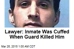 Lawyer: Nevada Guard Shot 2 Cuffed Inmates