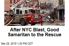 After NYC Blast, Good Samaritan to the Rescue