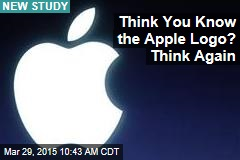 You Probably Can't Draw the Apple Logo From Memory