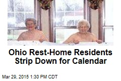 Ohio Rest-Home Residents Strip Down for Calendar
