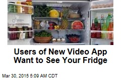 Users of New Video App Want to See Your Fridge