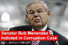 Senator Bob Menendez Indicted in Corruption Case