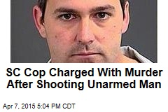 South Carolina Cop Charged With Murder in Shooting