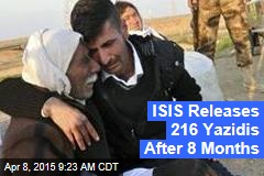 ISIS Releases 216 Yazidis After 8 Months