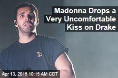 Madonna Drops a Very Uncomfortable Kiss on Drake