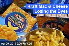 Kraft Mac & Cheese Losing the Dyes