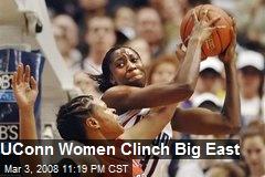 UConn Women Clinch Big East