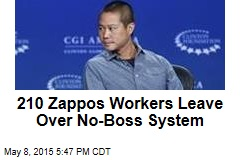 210 Zappos Workers Leave Over No-Boss System