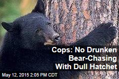 Cops: No Drunken Bear-Chasing With Dull Hatchet