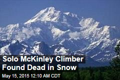 Solo McKinley Climber Found Dead in Snow