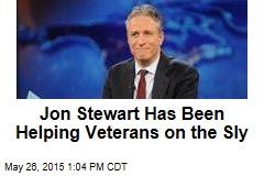 Jon Stewart Has Been Helping Veterans on the Sly