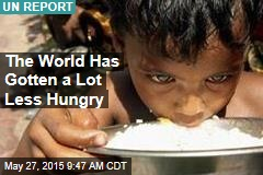 The World Has Gotten a Lot Less Hungry