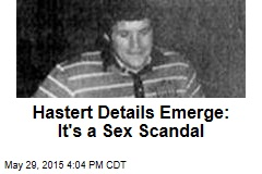 Hastert Details Emerge: It's a Sex Scandal