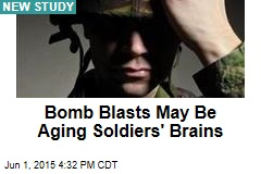 Bomb Blasts May Be Aging Soldiers' Brains