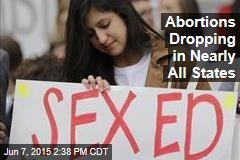 Abortions Dropping in Nearly All States