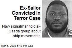 Ex-Sailor Convicted in Terror Case