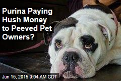 Purina Paying Hush Money to Peeved Pet Owners?