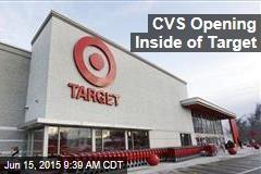 CVS Opening Inside of Target