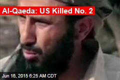 Al-Qaeda: US Killed No. 2