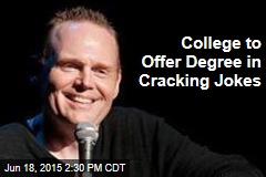College to Offer Degree in Cracking Jokes