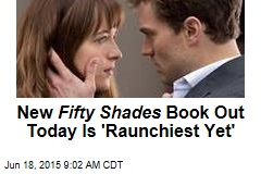 New Fifty Shades Book Out Today Is 'Raunchiest Yet'