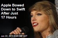 Apple Bows Down to Swift: We'll Pay Artists