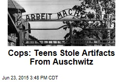 Cops: Teens Stole Artifacts From Auschwitz