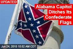 Alabama Capitol Ditches Its Confederate Battle Flag
