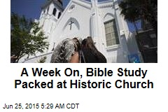A Week On, Bible Study Packed at Historic Church