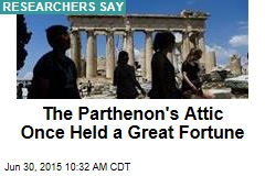 The Parthenon's Attic Once Held a Great Fortune