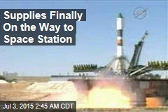 Supplies Finally On the Way to Space Station