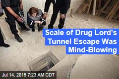 Scale of Drug Lord's Tunnel Escape Was Mind-Blowing