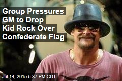 Group Pressures GM to Drop Kid Rock Over Confederate Flag