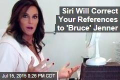 Siri Will Correct Your References to 'Bruce' Jenner