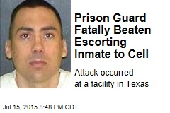 Prison Guard Fatally Beaten Escorting Inmate to Cell