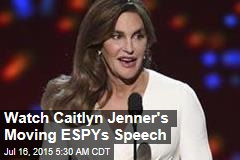 Jenner Wins Courage Award at ESPYs