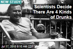 Scientists Decide There Are 4 Kinds of Drunks