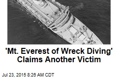 'Mt. Everest of Wreck Diving' Claims Another Victim