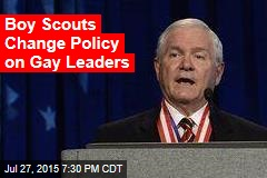 Boy Scouts of America Approves Gay Leaders